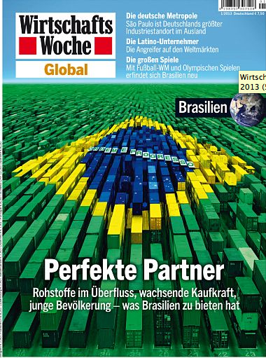"""Brasilien als der """"Perfekte Partner"""" – ist das Thema der Sonderausgabe der Wirtschaftswoche.©Wirtschaftswoche"""