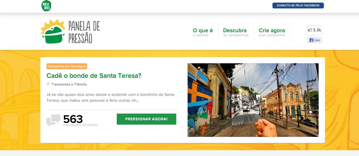Die Organisation aus Rio de Janeiro setzt sich für die Interessen der Bürger ein und macht Druck auf die Politiker.
