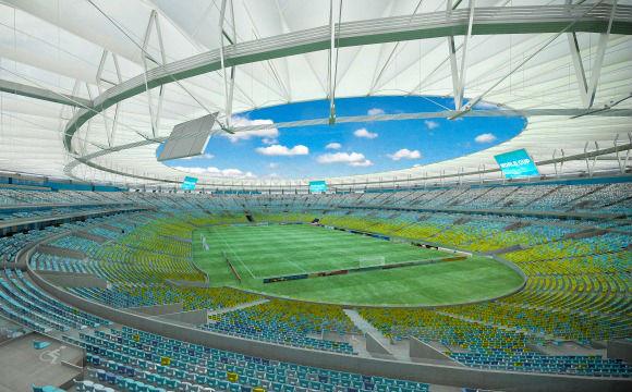 """Im Maracanã-Stadion in Rio de Janeiro wird das Finale der WM 2014 stattfinden. Trotz der Vorfreude: viele Brasilianer werden erleichtert sein, wenn die Copa in ihrem Land vorbei ist. Tatubola hat einige Stimmen in der Serie """"WM Proteste Brasilien"""" gesammlt. ©www.wm2014-infos.de"""