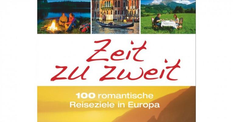 Der Reiseführer Zeit zu zweit ist im Oktober 2014 im Bruckmann Verlag erschienen. © Bruckmann Verlag