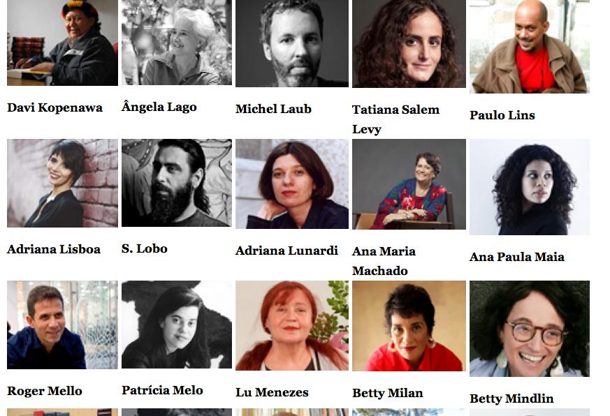 Zur französischen Buchmesse Salon du livre wurden 45 brasilianische Autoren eingeladen. © Screenshot Salon du livre