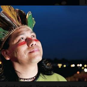 Daniel Munduruku © Screenshot http://www.danielmunduruku.com.br
