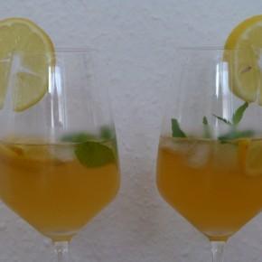 Portotonic-Portwein Cocktails