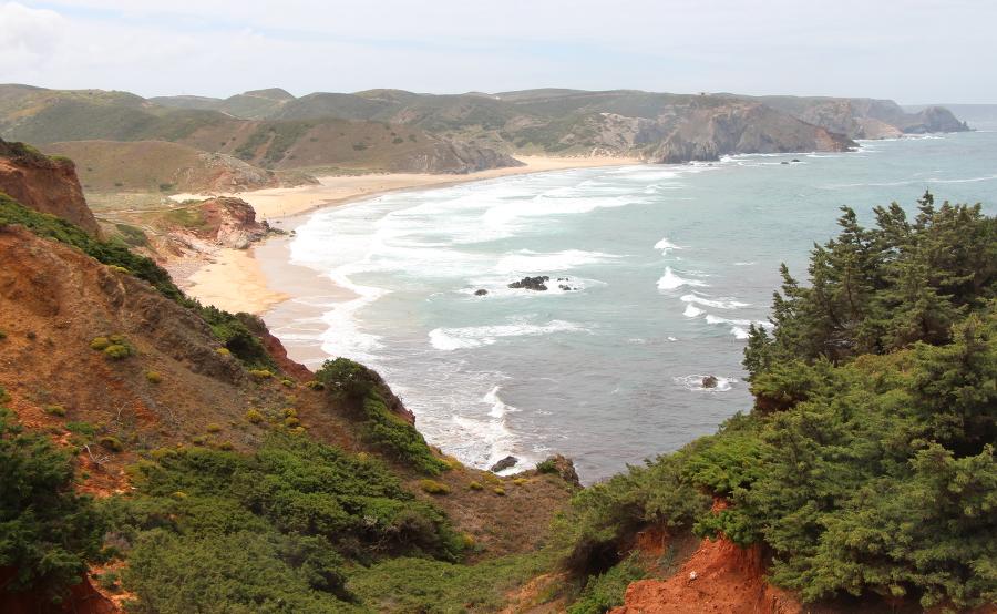Praia Amado bei Carrapateira